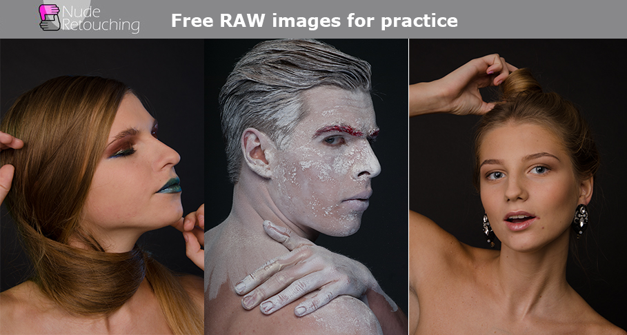 Download Free Raw Images for Retouching to Improve Your Photo