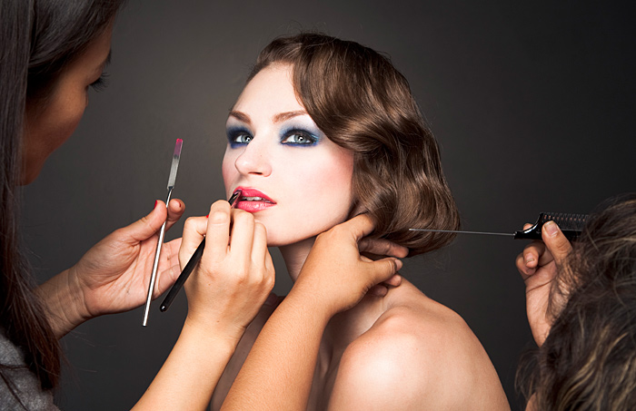 Online photo editor makeup and hair - video tutorials